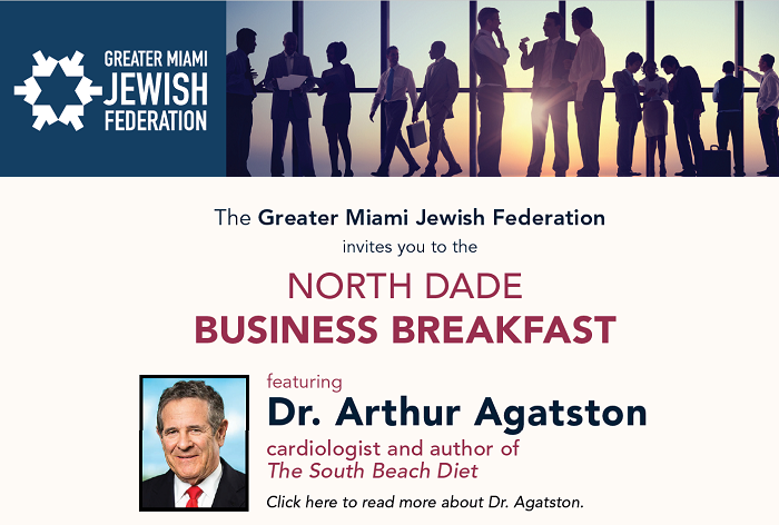 North Dade Business Breakfast Featuring Dr. Arthur Agatston