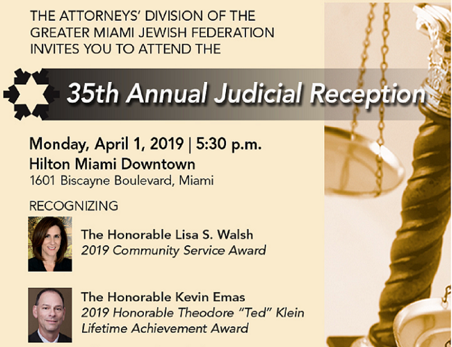 35th Annual Judicial Reception