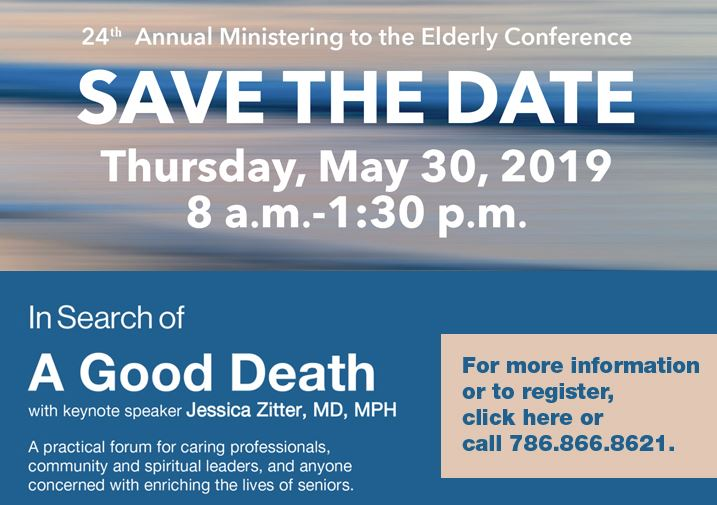24th Annual Ministering to the Elderly Conference