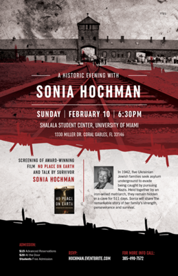 An Evening with Sonia Hochman