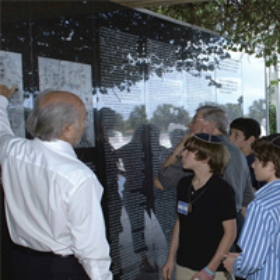 'Young Lion' Program Pairs B'nai Mitzvah Students with Holocaust Survivors