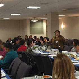Nearly 60 People of Different Faiths Gathered Together at the Third Annual Advocacy Seder
