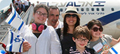 Largest French Aliyah Flight Lands in Israel