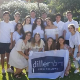 Miami Diller Teens Experience Israel