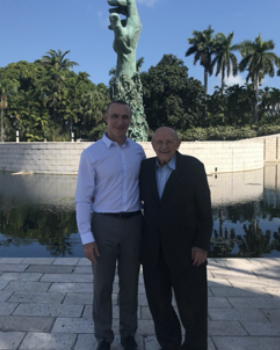 Building Relationships With Diplomats From Around the World at the Holocaust Memorial Miami Beach