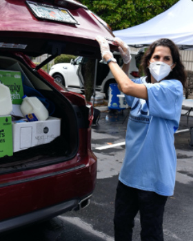 Federation Offers Second Kosher Drive-Thru Food Distribution