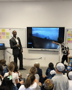 Day School Students Learn About the Experiences of Ethiopian-Israelis