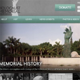Holocaust Memorial Miami Beach Launches Newly Designed, Interactive Website
