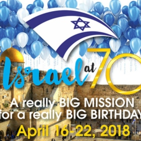Attend an Information Session to Learn More About the Israel at 70 Mission