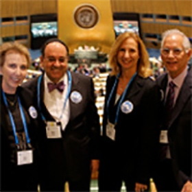 Four Jewish Leaders from Miami Participated in The Jewish Federations of North America's First-Ever Mission to the United Nations