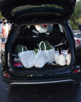 Kosher Food Distribution Drive-Thru Helps Those in Need