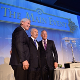 Former Israeli President Shimon Peres Addresses 1,300 at Federation's Main Event