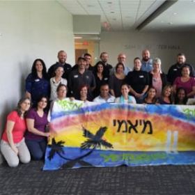Miami's Jewish Community Welcomes Yerucham's Matnas