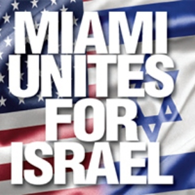 Miami Community Rallys in Solidarity with Israel