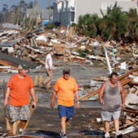 The Jewish Community Responds to Hurricane Michael