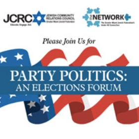 JCRC, The Network to Present Pre-Election Day Forum