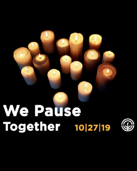 #PauseWithPittsburgh on October 27 for a Global Movement of Remembrance