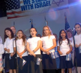 Miamians Stand in Solidarity With Israel at Rally