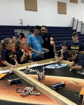 Local Jewish Day Schools and Yerucham Robotics Team Join Forces