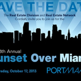 Professionals Cruising to Sunset Over Miami, a Celebration of South Florida's Real Estate Industry