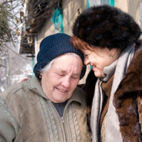 Federation Support Helping Impoverished Seniors in Former Soviet Union