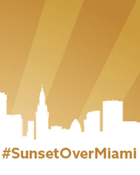 Join Us for Sunset Over Miami