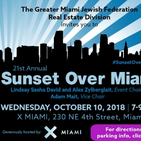 Don't Miss the 21st Annual Sunset Over Miami