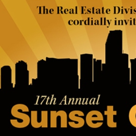 17th Annual Sunset Over Miami to Celebrate South Florida's Real Estate Industry