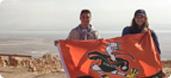 UM Hillel Birthright Trip Visits Yerucham!