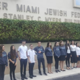 HaZamir Brings Together Students From Miami and Yerucham